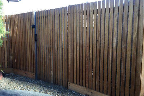 Hardwood Batten fencing