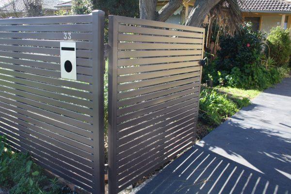 Gramline Smartslat 40mm slats. Double Gates to match